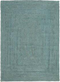 Frida Color - Turquoise Covor 160X230 Modern Lucrate De Mână Albastru Turcoaz/Albastru Turcoaz ( India)
