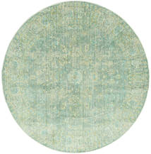 Maharani - Verde Covor Ø 200 Modern Rotund Verde Pastel ( Turcia)