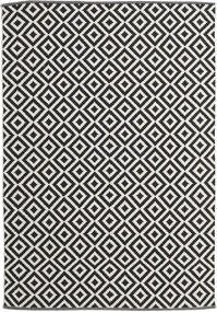 Torun - Negru/Neutral Covor 170X240 Modern Lucrate De Mână Negru/Bej Închis (Bumbac, India)