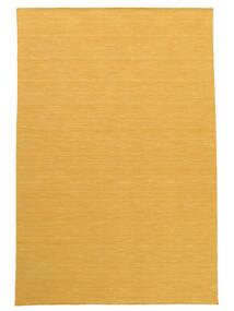 Chilim Loom - Yellow Covor 140X200 Modern Lucrate De Mână Maro Deschis/Galben (Lână, India)
