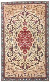 Najafabad Patina Covor 140X236 Orientale Lucrat Manual Bej/Maro Închis (Lână, Persia/Iran)