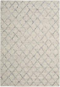 Rut - Argintiu/Gri Melange Covor 250X350 Modern Lucrate De Mână Gri Deschis/Bej Închis Mare (Lână, India)