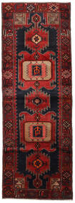 Hamadan Covor 104X295 Orientale Lucrat Manual Roșu-Închis (Lână, Persia/Iran)