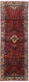 Hamadan Covor 102X292 Orientale Lucrat Manual Roșu-Închis/Gri Închis (Lână, Persia/Iran)