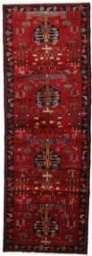 Hamadan Covor 108X310 Orientale Lucrat Manual Maro Închis/Roșu-Închis/Roşu (Lână, Persia/Iran)