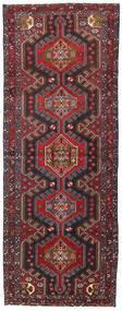 Hamadan Covor 107X283 Orientale Lucrat Manual Roșu-Închis/Negru (Lână, Persia/Iran)