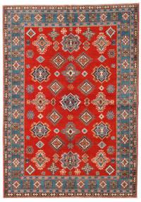 Kazak Covor 169X238 Orientale Lucrat Manual Ruginiu/Maro Deschis (Lână, Afganistan)