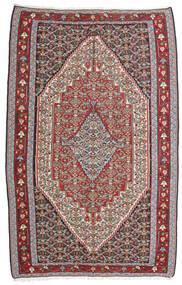 Chilim Senneh Covor 160X246 Orientale Lucrate De Mână Gri Deschis/Gri Închis (Lână, Persia/Iran)