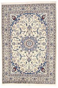 Nain Covor 164X240 Orientale Lucrat Manual Gri Deschis/Bej (Lână, Persia/Iran)