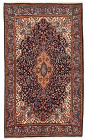 Kerman Covor 147X253 Orientale Lucrat Manual Gri Închis/Negru (Lână, Persia/Iran)