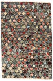 Moroccan Berber - Afghanistan Covor 116X177 Modern Lucrat Manual Gri Închis/Negru (Lână, Afganistan)