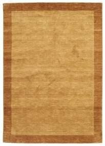 Handloom Frame - Auriu Covor 160X230 Modern Maro Deschis/Maro (Lână, India)