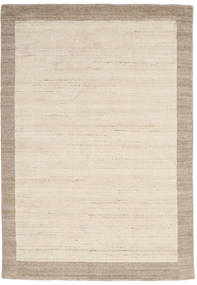 Handloom Frame - Natural/Sand Covor 160X230 Modern Bej/Gri Deschis (Lână, India)