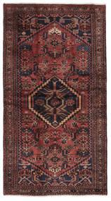 Hamadan Covor 115X210 Orientale Lucrat Manual Negru/Maro Închis (Lână, Persia/Iran)