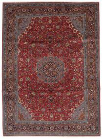 Sarouk Covor 219X300 Orientale Lucrat Manual Negru/Maro Închis (Lână, Persia/Iran)